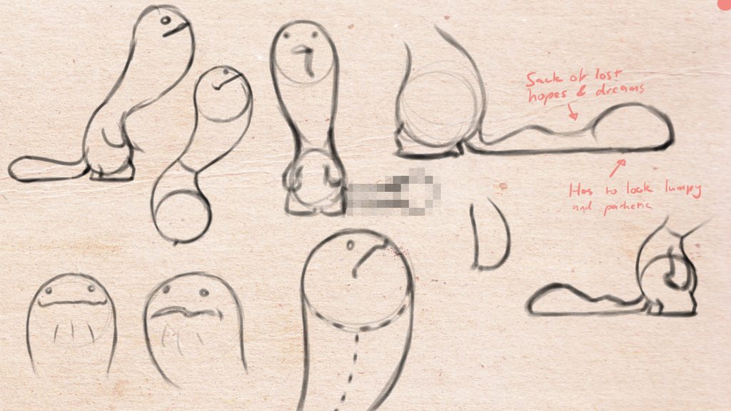Flappy Face sketches 3 by PSYSpace