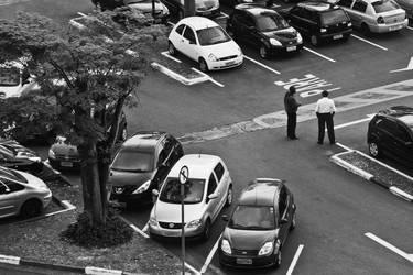 Parking Lot Talk by cheiraessa