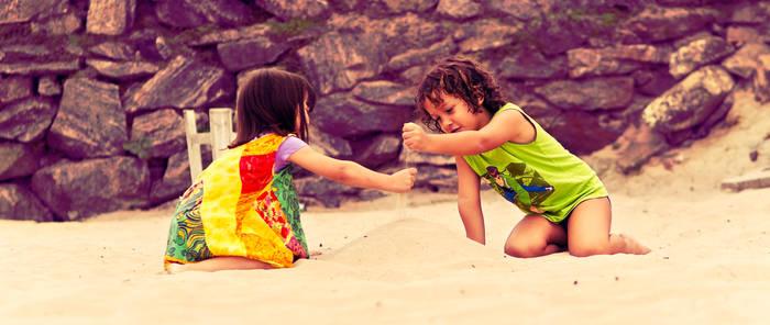 Sand friends by cheiraessa
