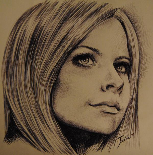 Avril Lavigne by JuliaFox90