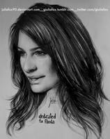 Lea Michele by JuliaFox90