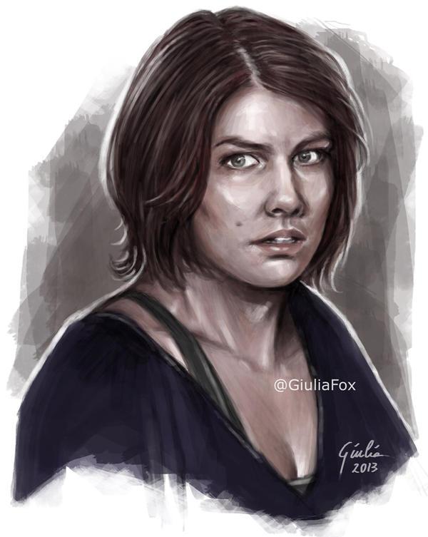 Maggie by JuliaFox90