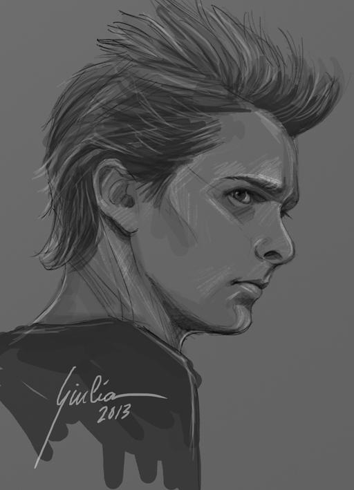 Drawing Lines In Muse : Matthew bellamy by juliafox on deviantart