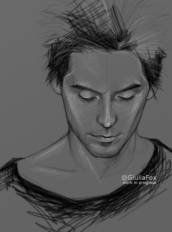 Jared - wip - by JuliaFox90