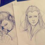 Tauriel Sketch