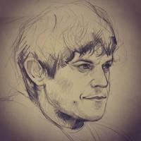 Ramsay Bolton - Sketch - by JuliaFox90