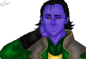 Prince Loki :Edit: by Gothicpug
