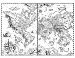 World Map for Chronica: Age of Exploration