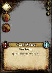 Card Layout for a game. Personal project.