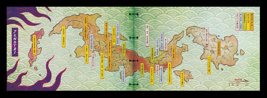 Sekigasa-no-Tabi: World Map