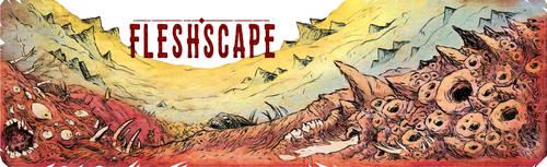 FLESHSCAPE title art
