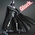 Darth Wader by glorkpixels