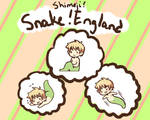 APH Snake!England Shimeji