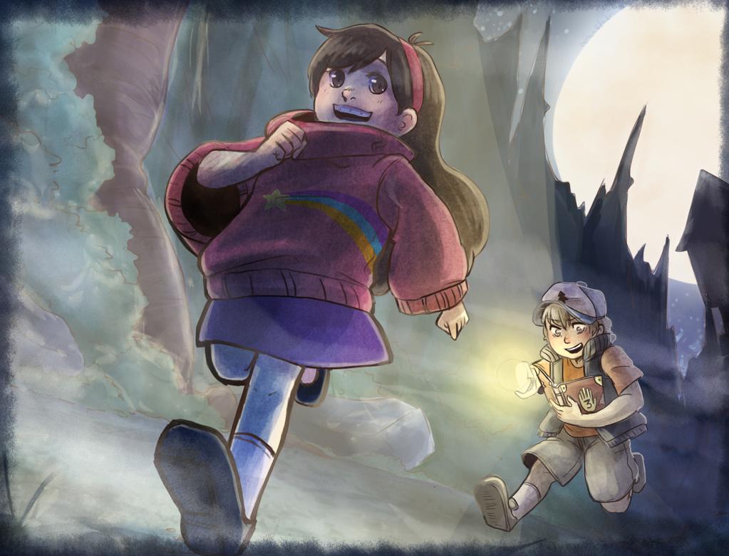 Gravity Falls by Owyn-Sama