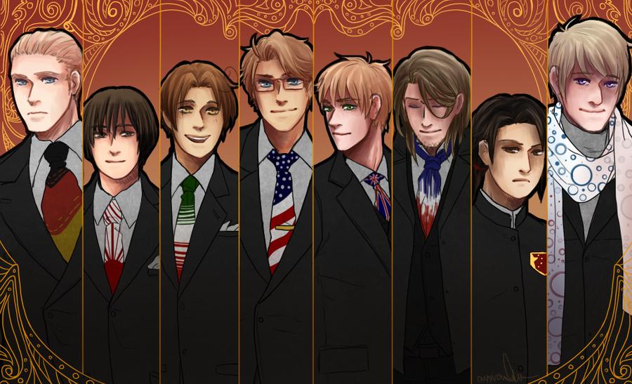 APH Suits by Owyn-Sama