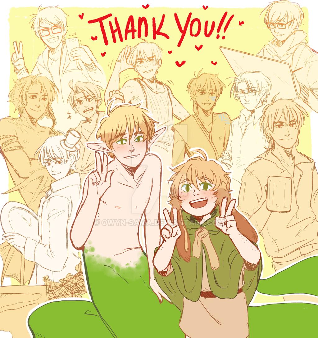 Thank You by Owyn-Sama