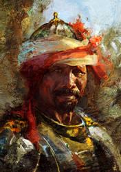 Saracen by Andrei-Pervukhin