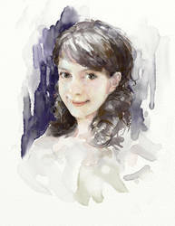 My girlfriend by Andrei-Pervukhin