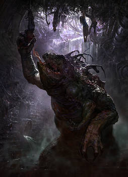 Swamp dwelling monster