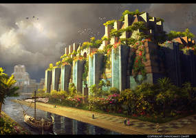 Babylon Gardens by Andrei-Pervukhin