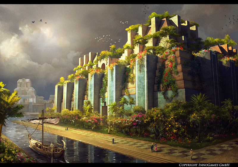 Babylon Gardens by Pervandr