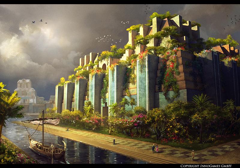 Babylon Gardens by Pervandr