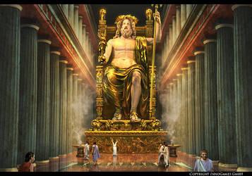 Olympian Zeus by Andrei-Pervukhin