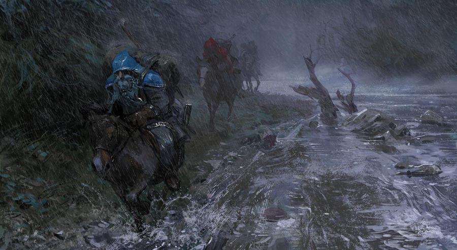 'Hobbit' illustration 03 by Pervandr