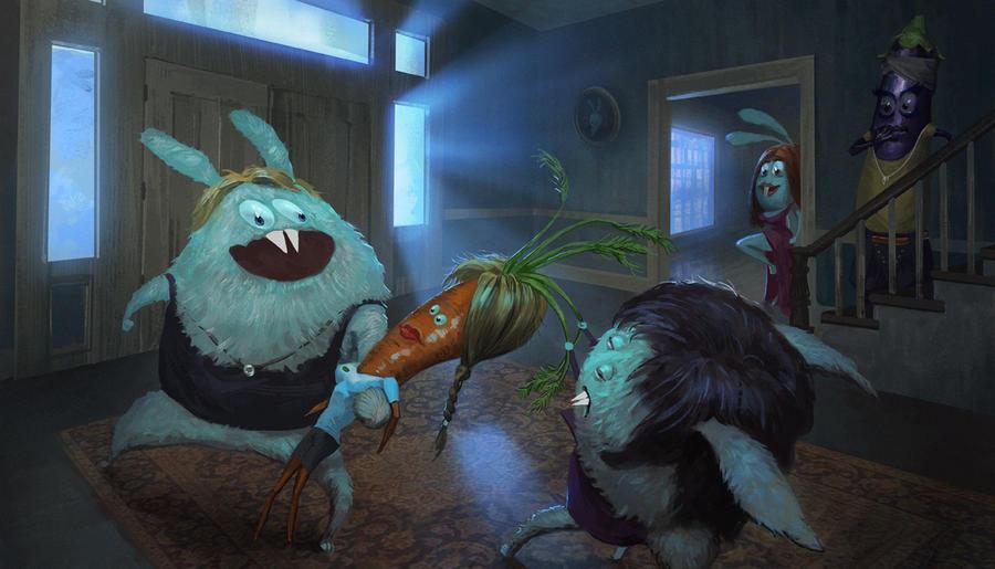 True carrot juice by Pervandr