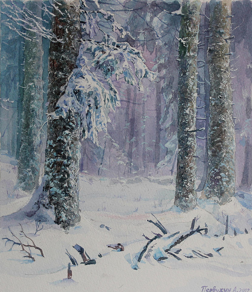 Winter by Pervandr