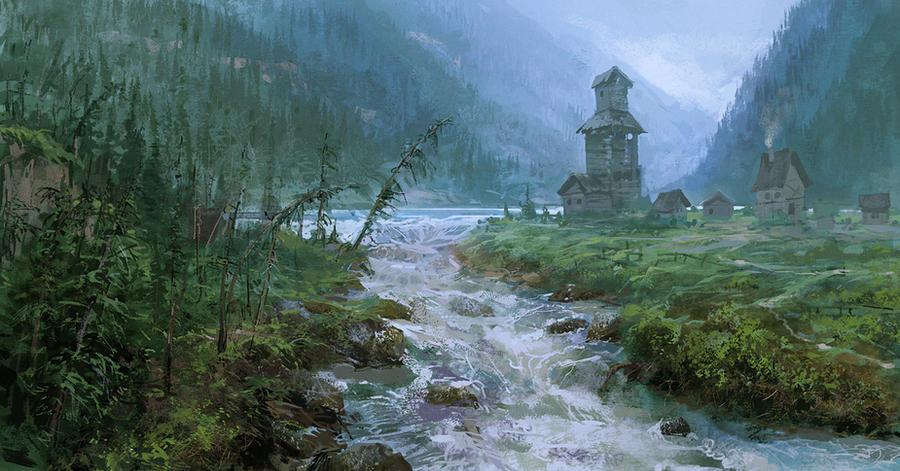 Landscape_01 by Pervandr