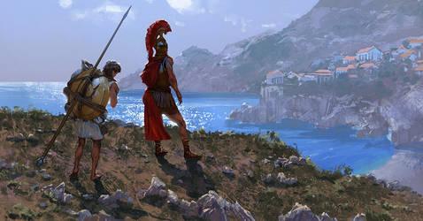 The hoplite by Andrei-Pervukhin