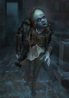 The ghost of Akaky Akakievich by Andrei-Pervukhin