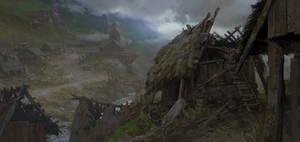 Medieval Village by Andrei-Pervukhin