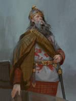 King Arthur by Andrei-Pervukhin