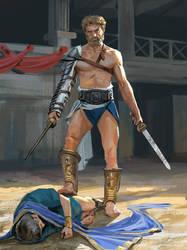 Spartacus by Andrei-Pervukhin