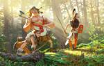 Sclavenian warriors
