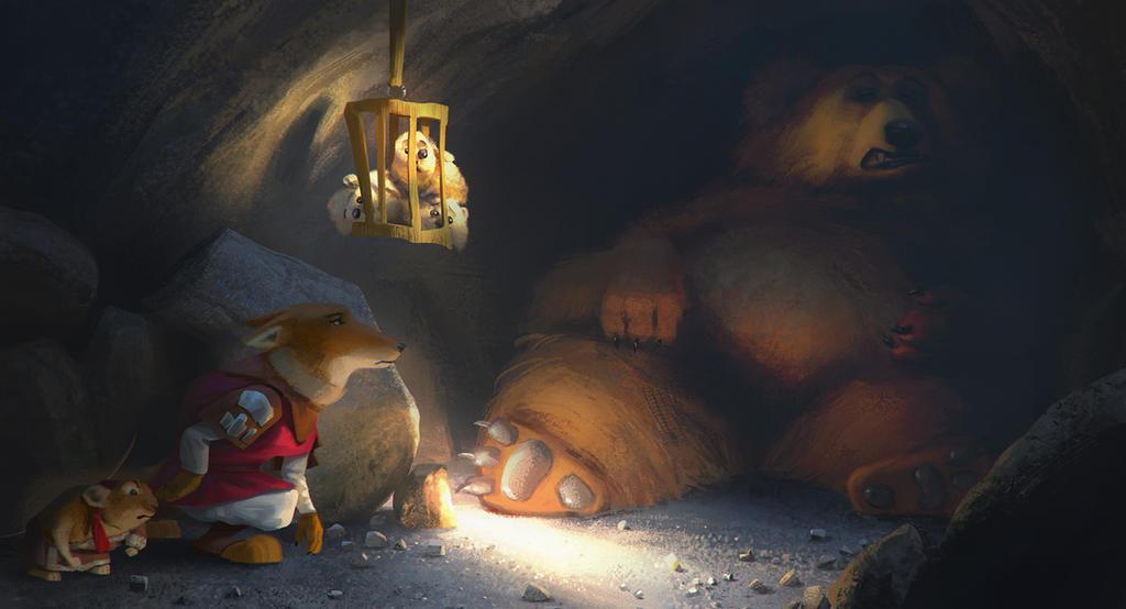 Tibetan story by Andrei-Pervukhin