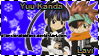 Chibi Lavi and Kanda Stamps by AllenxLenaleeFans