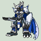 Fanmade Digimon - HolyGreymon by Dictator-Heartless