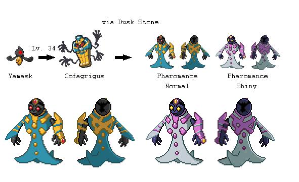 The gallery for --> Cofagrigus Evolution