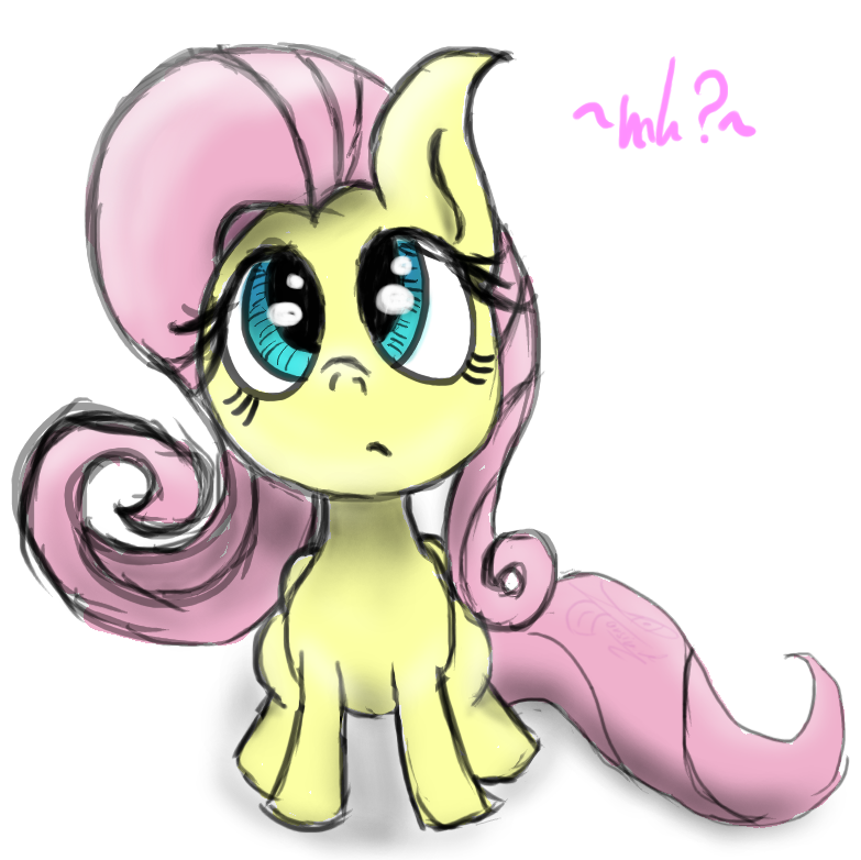 Cute Flutter Pone by l4rsinator