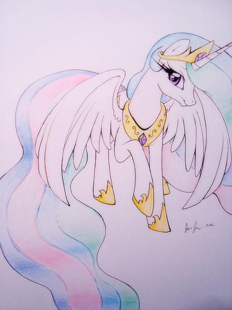 Dah Princess by PrettyPinkP0ny