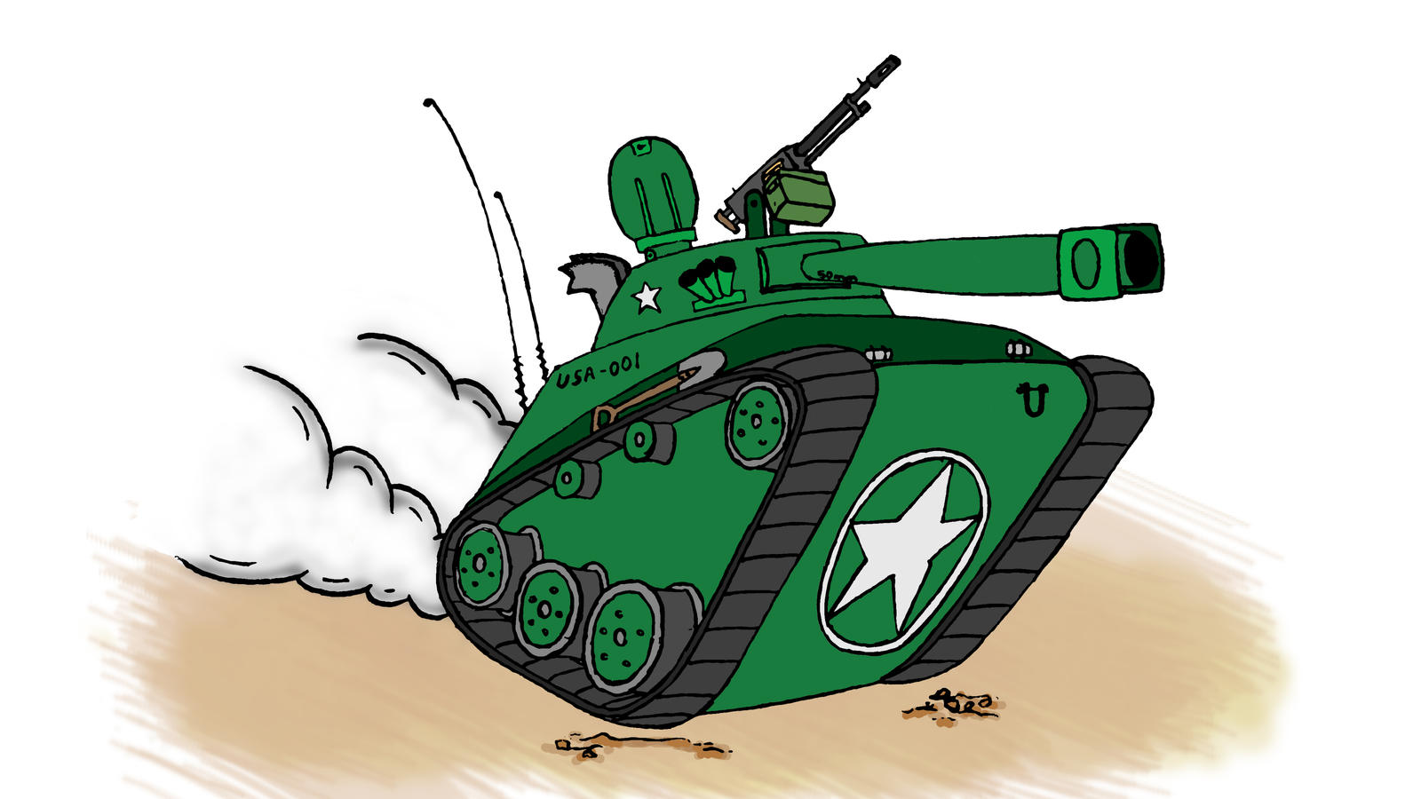 Cartoon Tank by Rob54613 on DeviantArt