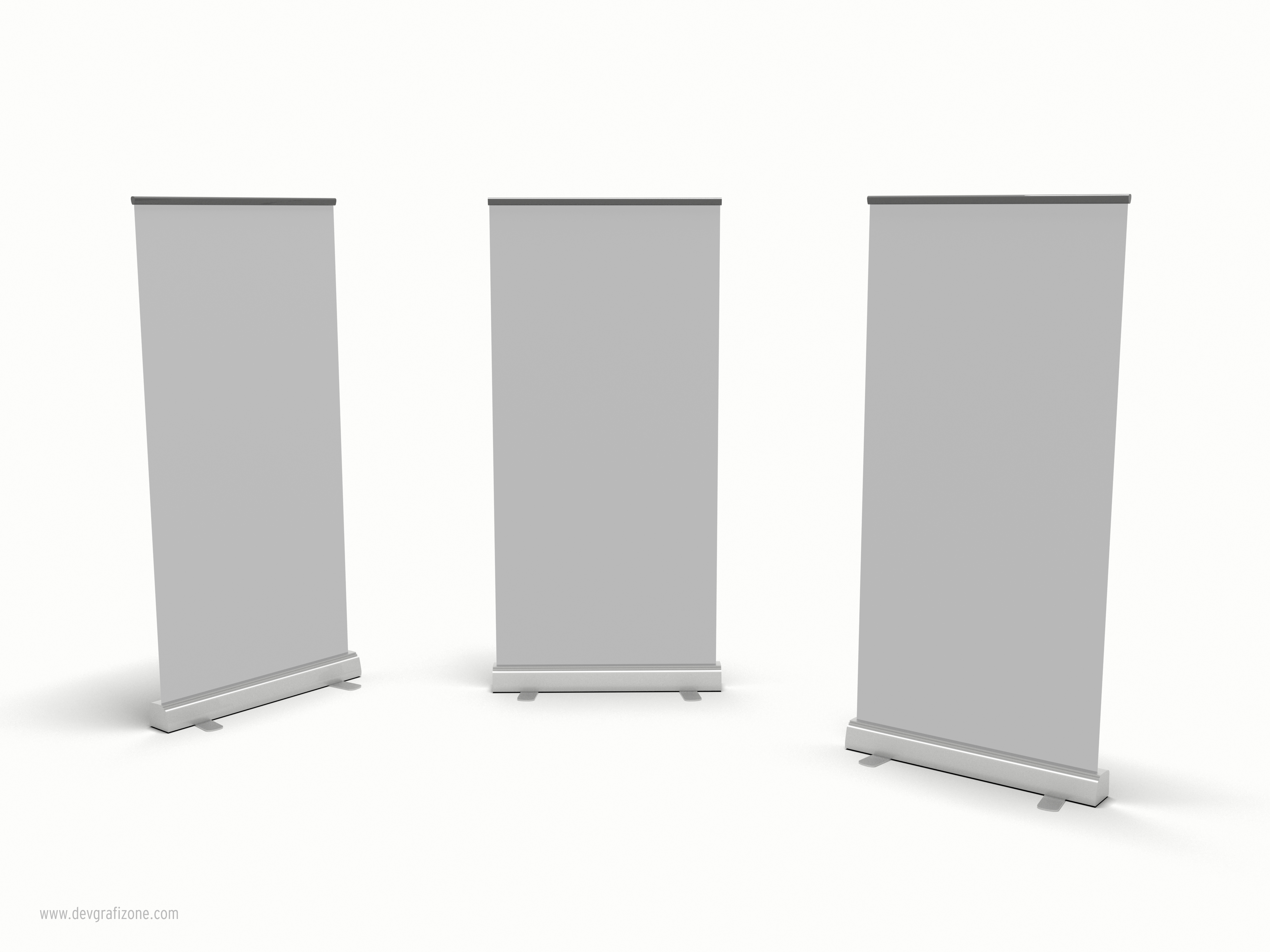 3d roll up banner pull up stand by devgrafizone on