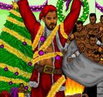 Santa Punk by dourdan