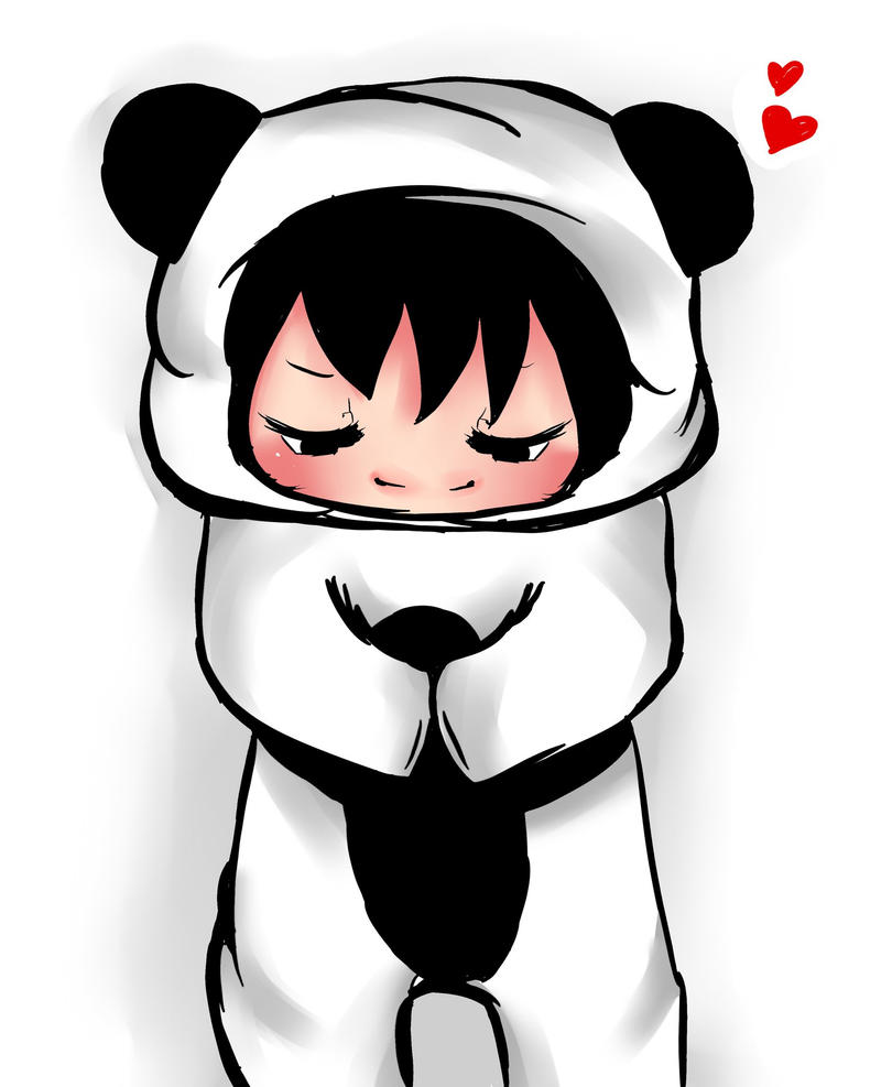 chibi panda 3 by Keitc...