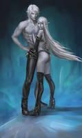 DnD Commission: Dark elves