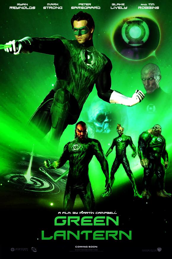 Green Lantern Movie Poster by NotAShrimp