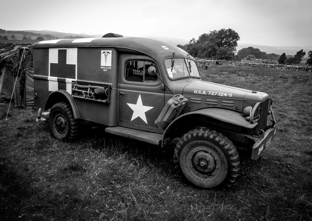 WW2 Ambulance by friartuck40
